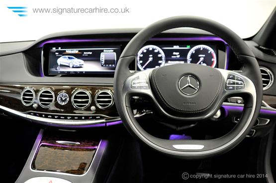 Mercedes New S Class S350 BlueTEC L steering