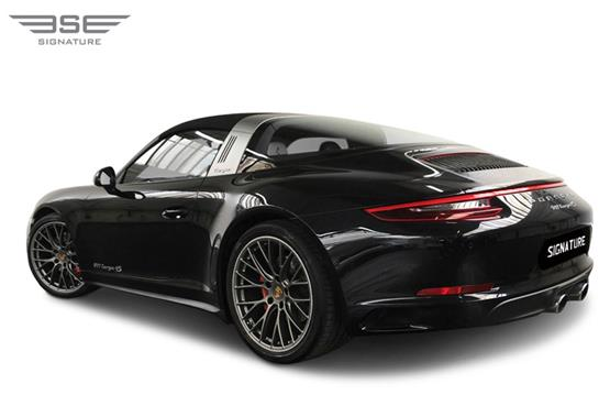 Porsche-911-Targa-4S-left rear view