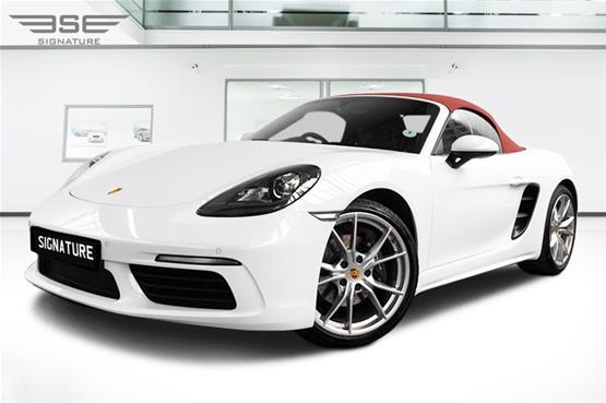 Porsche 718 Boxster Hire