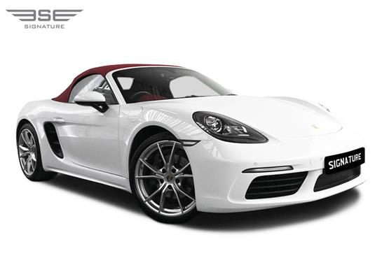Porsche 718 Boxster Right Front View
