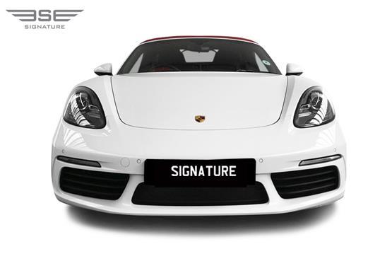 Porsche 718 Boxster Front View