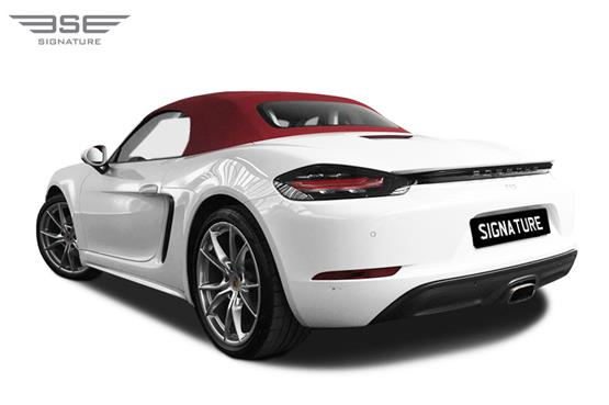 Porsche 718 Boxster Left Rear View