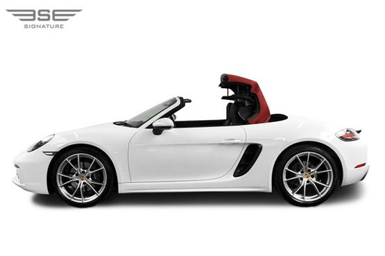 Porsche 718 Boxster Roof Folding View
