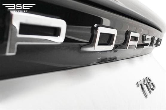Porsche 718 Boxster Logo