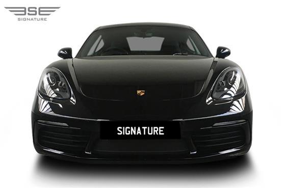 Porsche Cayman 718 Front View
