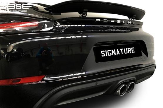 Porsche Cayman 718 Spoiler
