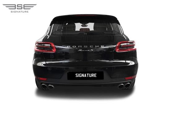 Porsche Macan S Rear View