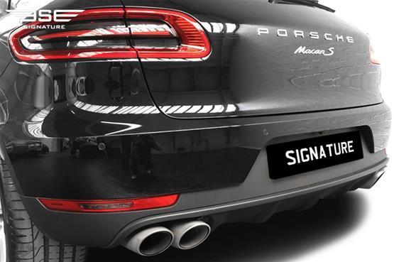 Porsche Macan S Rear Bumper