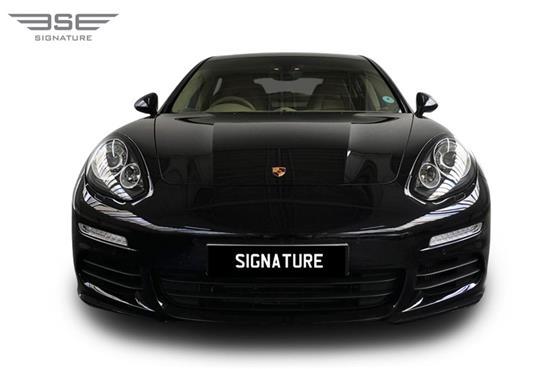 Porsche Panamera S Front View