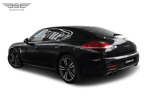 Porsche Panamera S Rear Left View