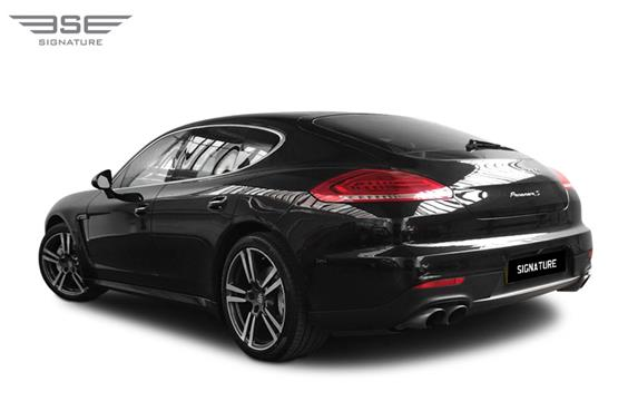 Porsche Panamera S Rear Left View 2