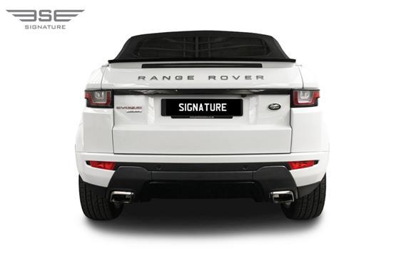 Range Rover Evoque Convertible Rear View