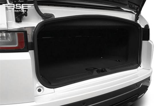 Range Rover Evoque Convertible Boot Space