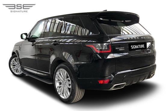 Range Rover Sport 3.0 S/C Rear Left View