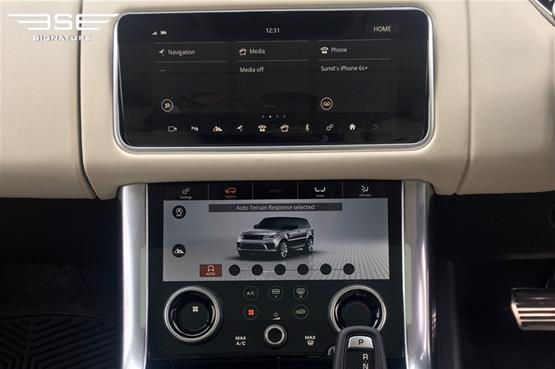 Range Rover Sport 3.0 S/C Center Console