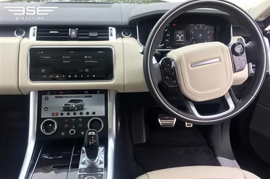 Range Rover Sport 3.0 S/C Dashboard
