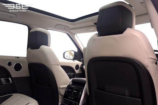 Range Rover Sport 3.0 S/C Rear Seat View