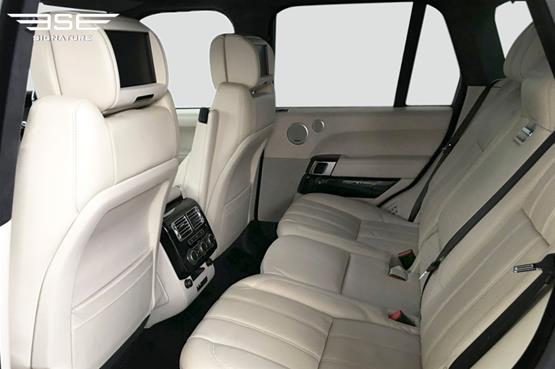 Range Rover Vogue Autobiography 4.4L Rear Seats