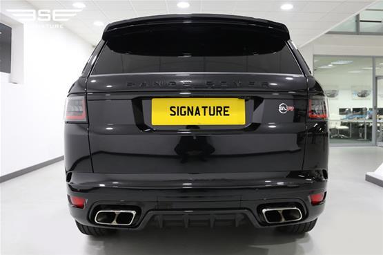 Range Rover Sport SVR 2018 - Rear View