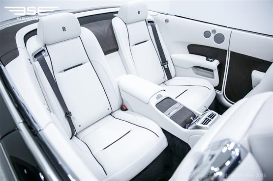 Rolls Royce Dawn Rear Seat