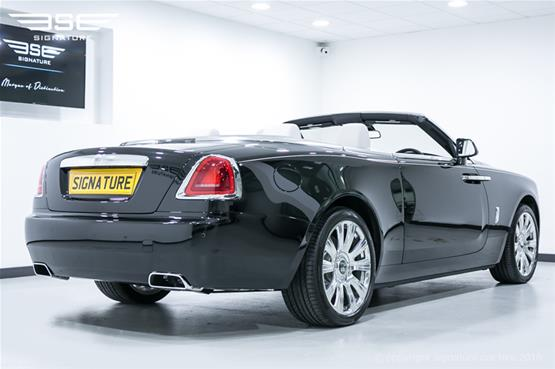 Rolls Royce Dawn Rear and Side View