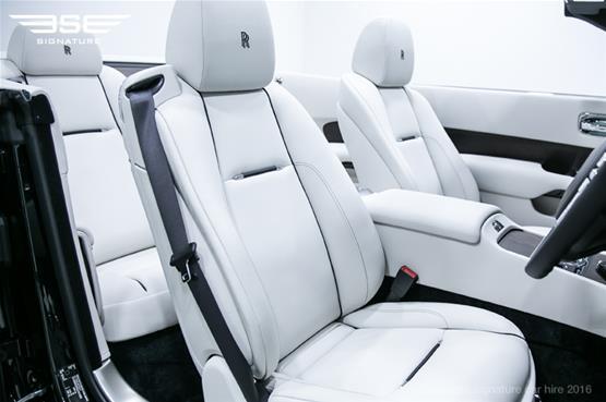 Rolls Royce Dawn Front Seat Interior