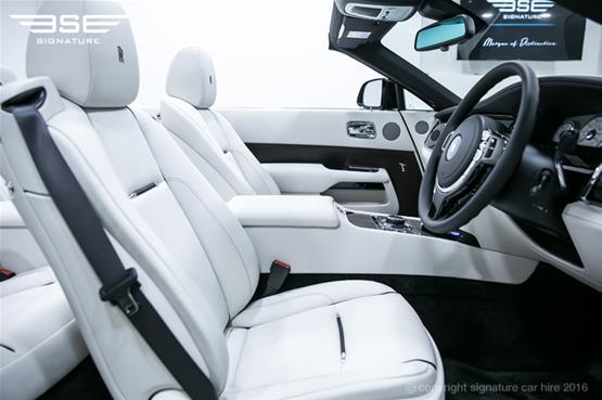 Rolls Royce Dawn Driver Seat