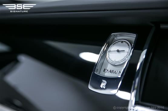 Rolls Royce Dawn Dashboard Clock