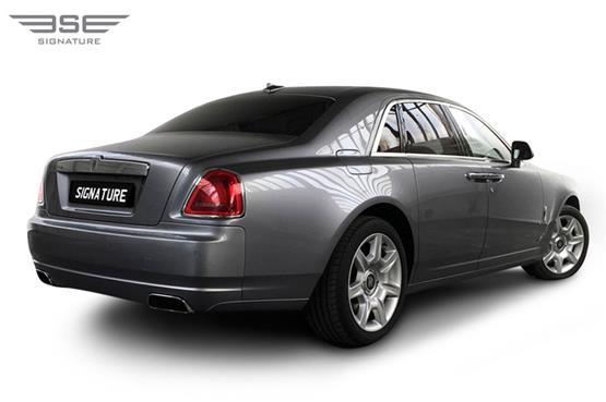 Rolls Royce Ghost Rear Right View