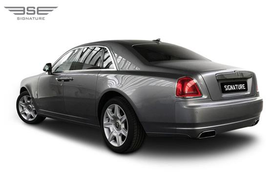 Rolls Royce Ghost Rear Left View