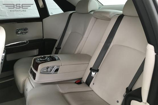 Rolls Royce Ghost Rear Seats