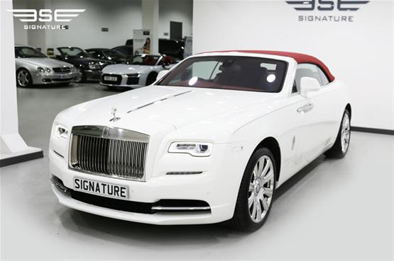Rolls Royce Dawn White  - 01