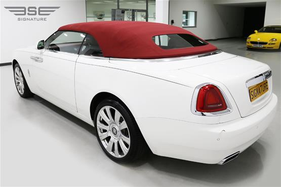Rolls Royce Dawn White  - 03