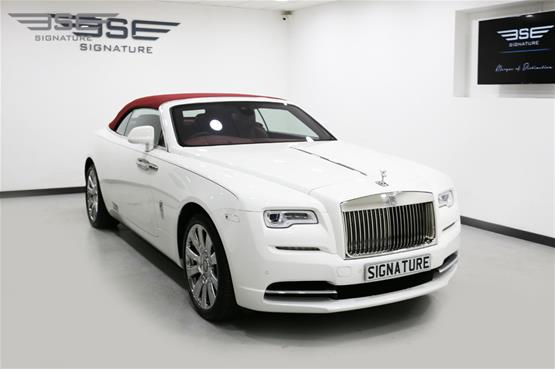 Rolls Royce Dawn White  - 05