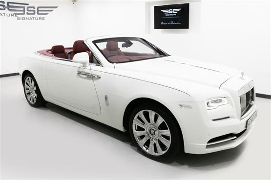 Rolls Royce Dawn White  - 25