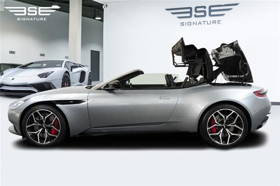 Aston Martin DB11 Volante Roof Folding Left View