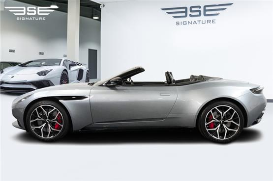 Aston Martin DB11 Volante Roof Down Left View