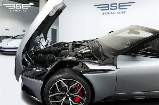 Aston Martin DB11 Volante Engine Hood Open View