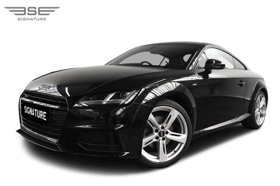 Audi TT Left Front View
