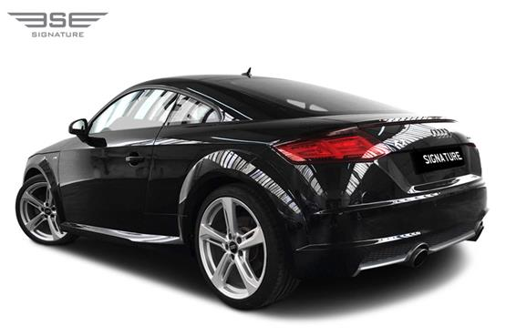Audi TT Left Rear View