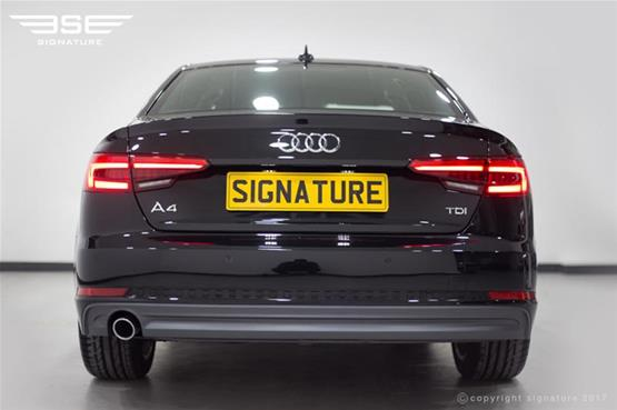 audi-a4--saloon-2.0tds-line-s-tronic-rear-view