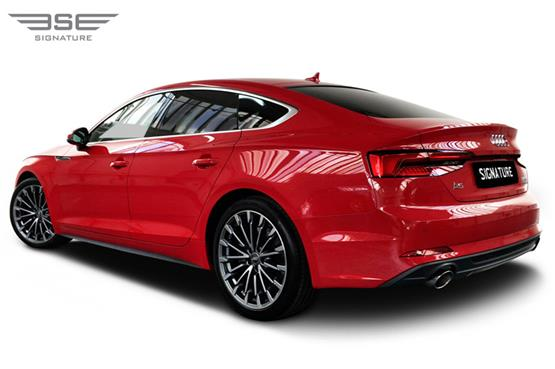 Audi A5 Sportback Left Rear View