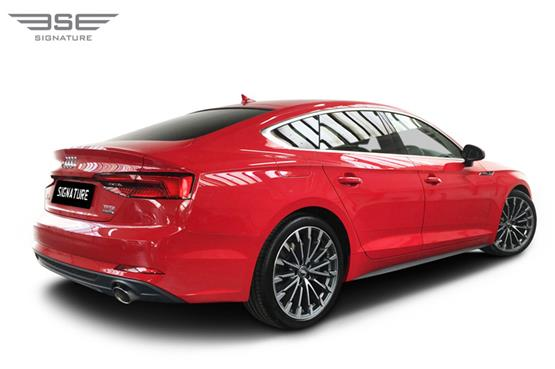 Audi A5 Sportback Right Rear View