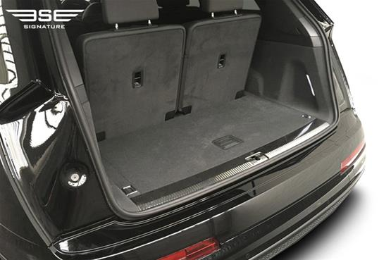 Audi Q7 Boot Space Seats Up