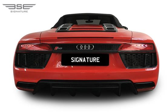 Audi R8 V10 Spyder Rear View