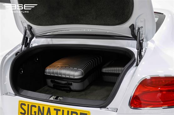 Bentley GT V8S Coupe Boot Space
