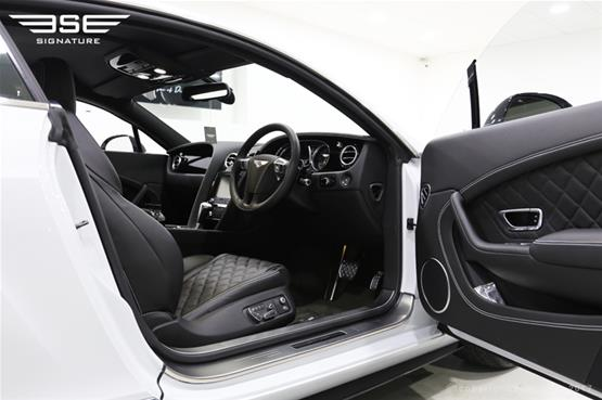 Bentley GT V8S Coupe Driver Open Door