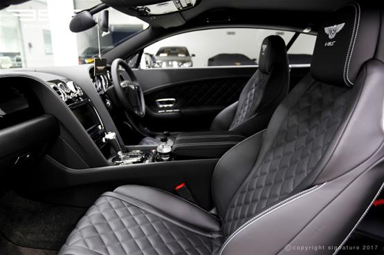 Bentley GT V8S Coupe Front Interior