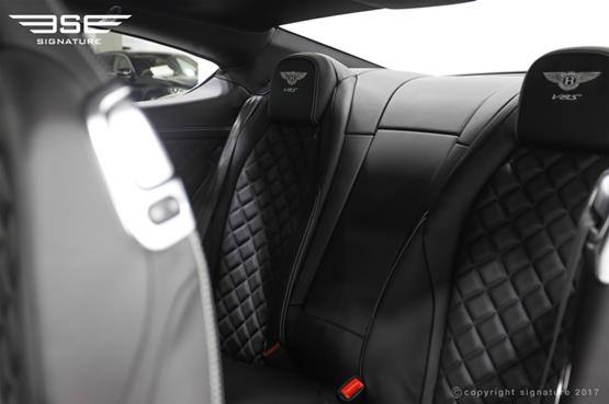 Bentley GT V8S Coupe Rear Seats