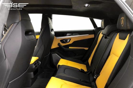 lamborghini urus rear seats